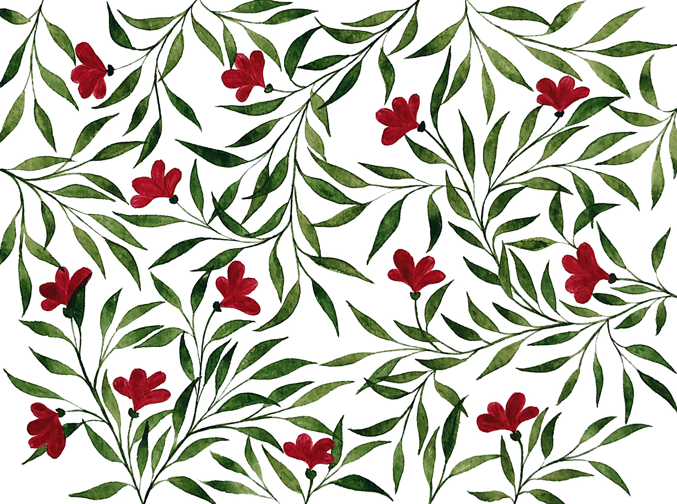 claudiaiarca_watercolorflowers_pattern